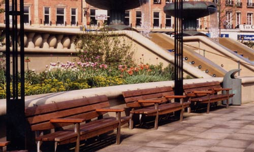 Peace Gardens Seating
